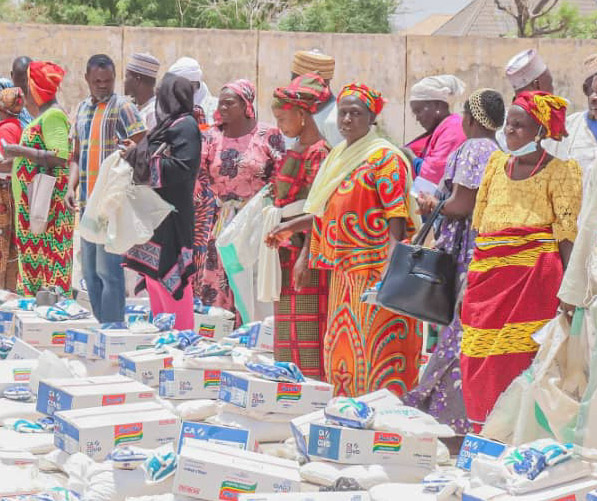 Gombe Govt Distributes Relief Materials to Victims of Billiri Crisis, Targets 2000 beneficiaries