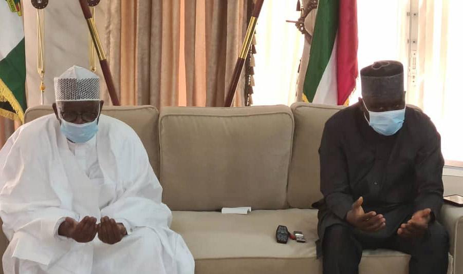 Buhari Condoles Governor Fintiri Over Loss Of Dr Tukur