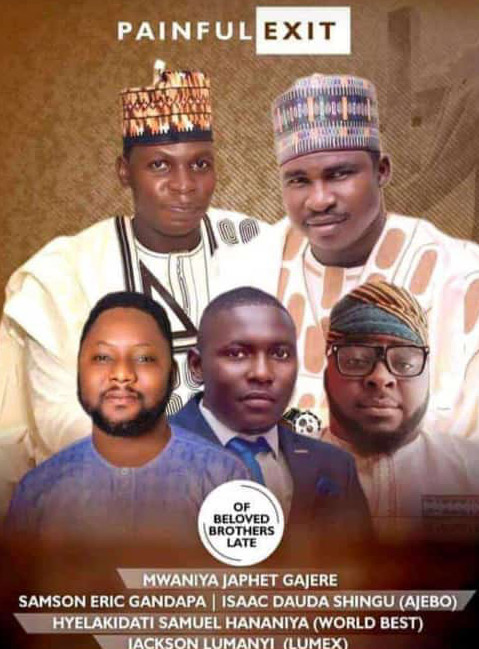 SGF Boss mourns the death of 5 Adamawa Young Men to road accident