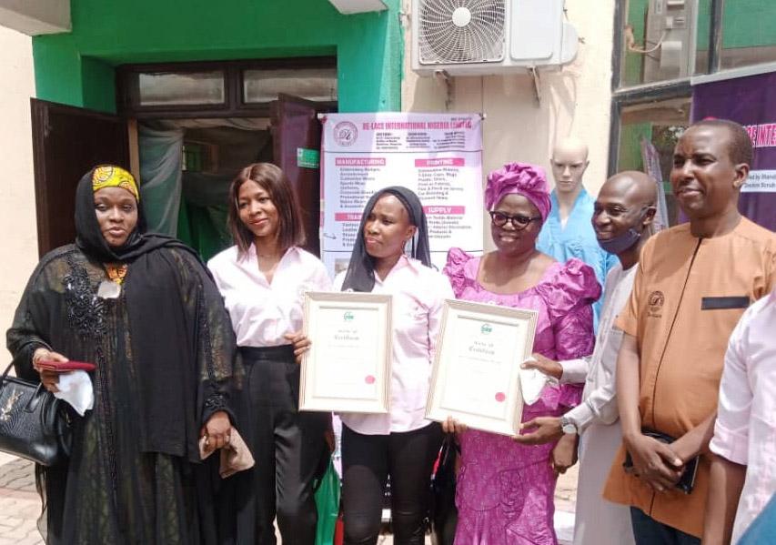 Quality Products: De-Lace NIgeria Limited  Receieves SON MANCAP Certificates