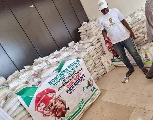Ramadan: Tinubu group distributes 10,000 bags of rice in Adamawa