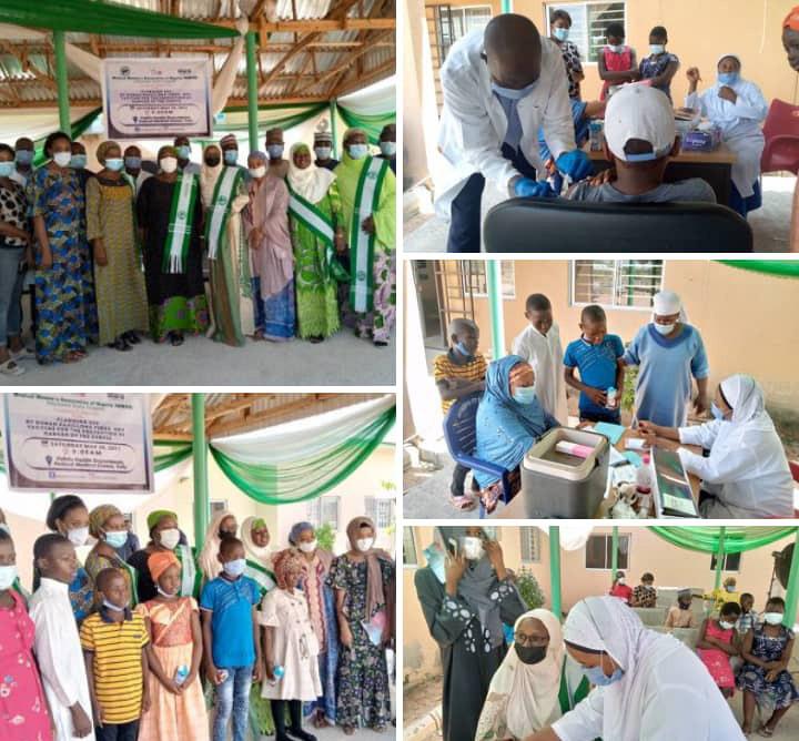 MWAN Adamawa, GFW Vaccinate 200 Preteen Against Cervical CANCER