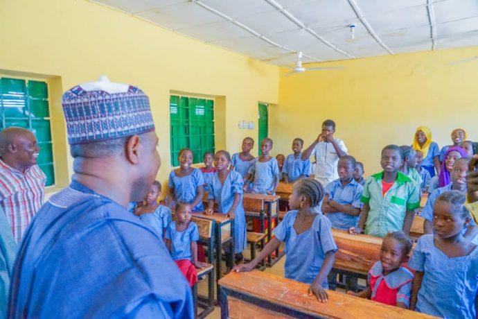 Democracy celebration : Hon Namdas commissions schools in three Adamawa communities