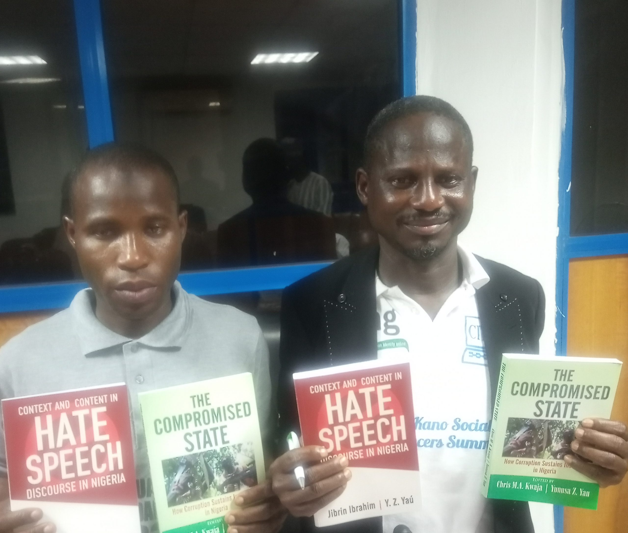 """How Corruption sustains insecurity in Nigeria :  CITAD Present Books title"""" Hate speech, the compromise state"""" in Yola."""