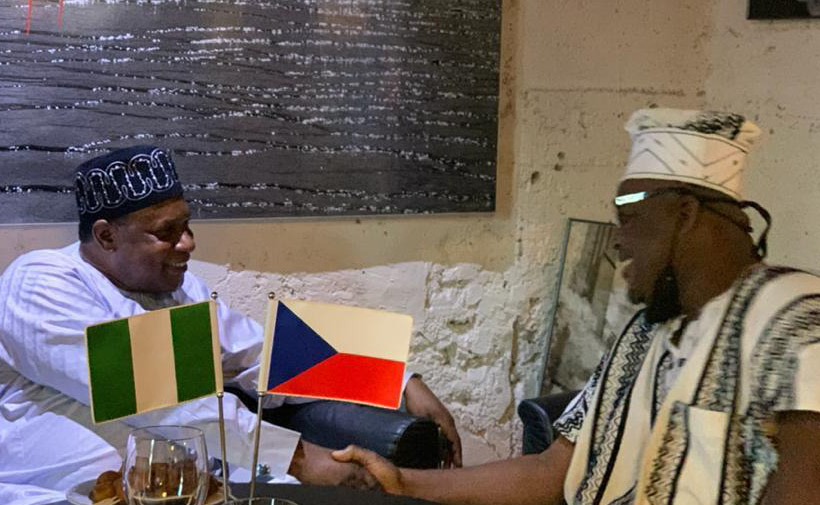 AMB KEVIN ASSUMES OFFICE, CHARGE NIGERIANS IN CZECH REPUBLIC TO OBEY LAW AND ORDER