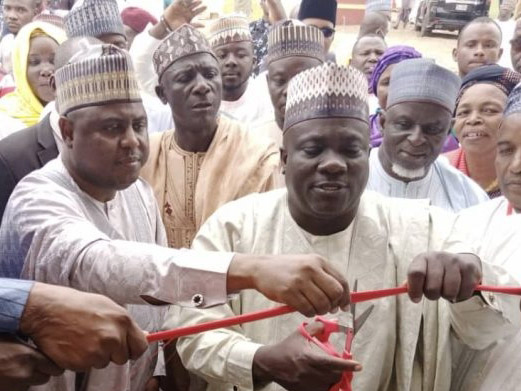 June 12: Namdas marks day,commissions twin two-bedroom flats at Doctor 's quarters Jada