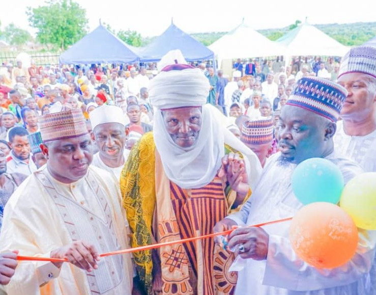 Adamawa communities praise Namdas for Commissioning a model Primary Health Care Centre