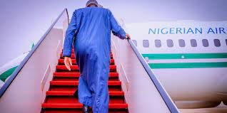 President Buhari jets off to London for medical appointment