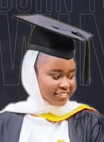 Safina, 21 yrs from Adamawa Makes Nigeria Proud, Bags First Class Degree From a UK university