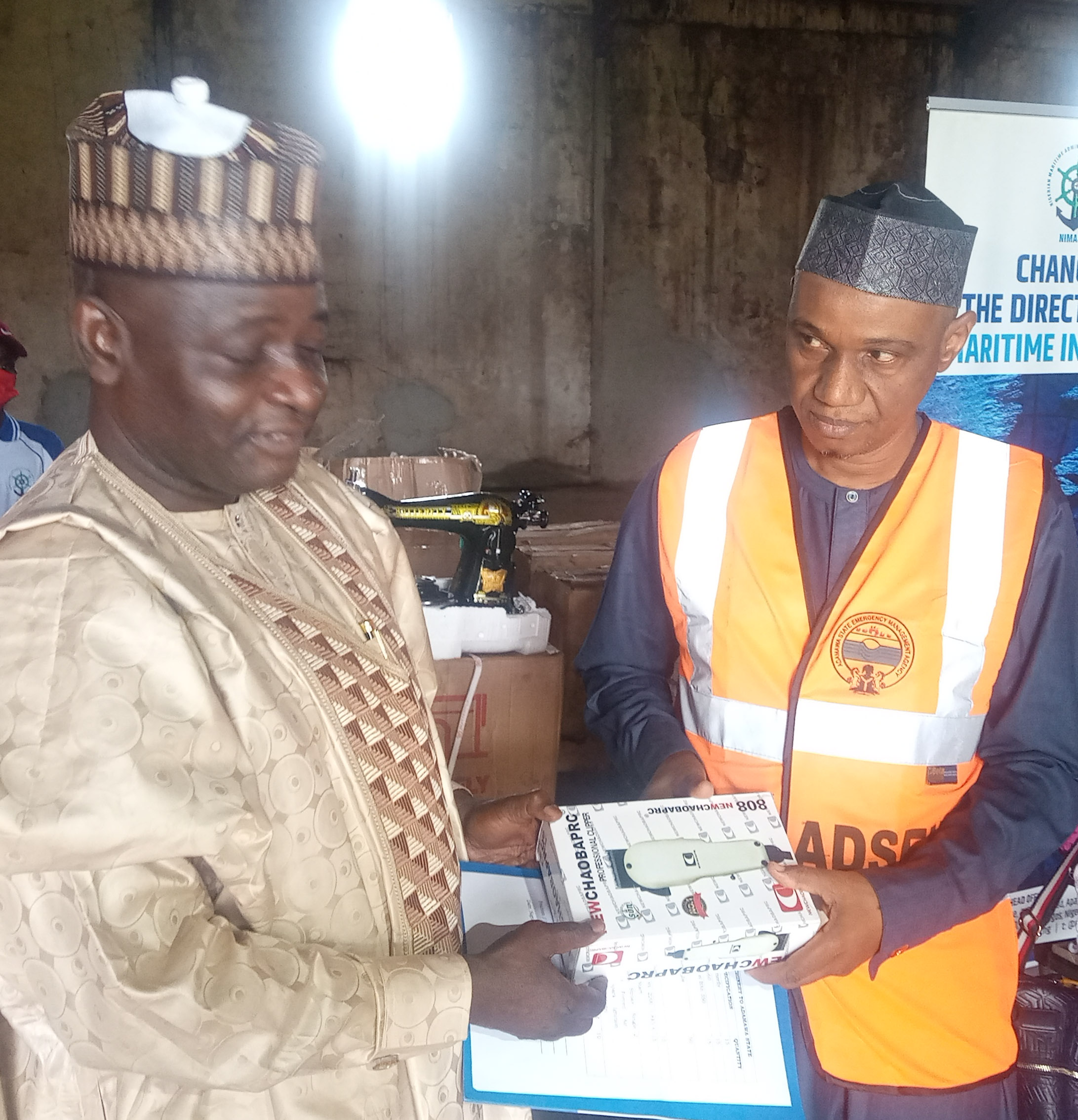 NIMASA donates empowerment items to Adamawa govt for onward delivery to displaced persons