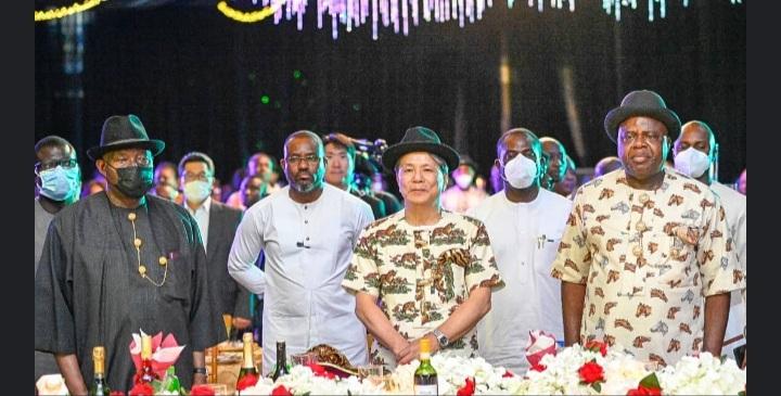 Ex-President Jonathan woos South Korea investors to Bayelsa