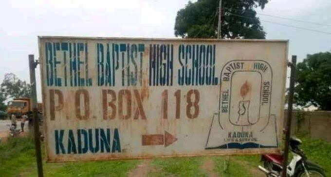 Bandits set free 28 abducted Kaduna Baptist school students
