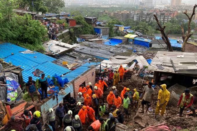 At least 18 dead in landslide, wall collapse in India monsoon rains