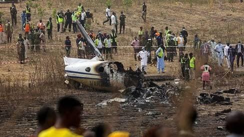 Military aircraft crashes in Kaduna