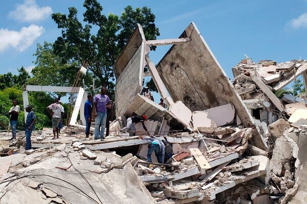Over 300 dead as earthquake rocks Haiti