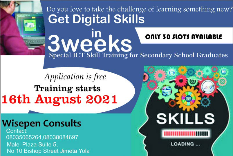 Wisepen Consults sets to train 30 secondary school graduates in Digital Skills