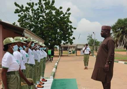GOV FINTIRI REITERATES COMMITMENT  TO PRIORITIZING SECURITY,WELFARE OF NYSC CORPS MEMBERS POSTED TO ADAMAWA