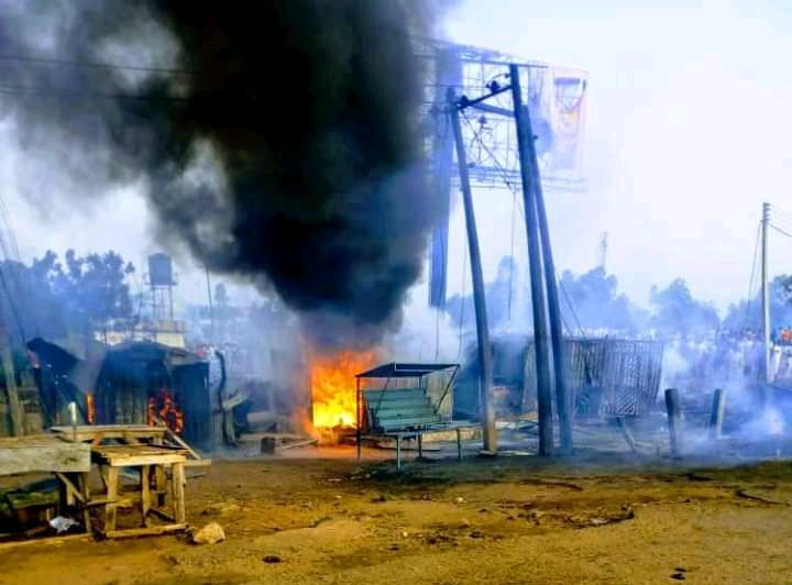 Properties worth millions of naira destroyed as a result of Tanker Explosion in Yola