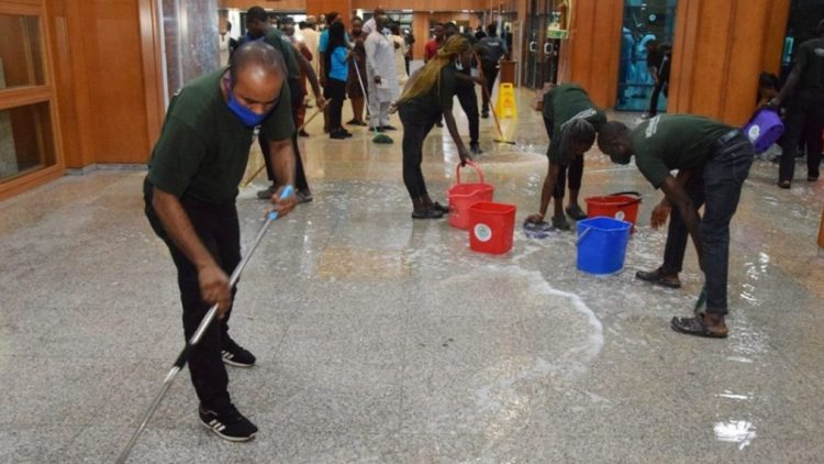 National Assembly's leaking roof endangers lawmakers' lives, says Elumelu