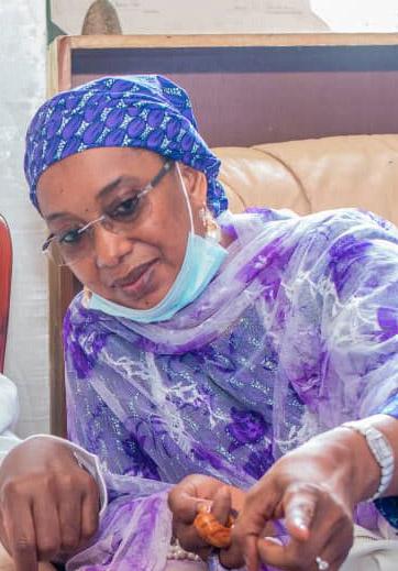 Sen Binani Commiserates With Victims Of Adamawa Tanker Explosion