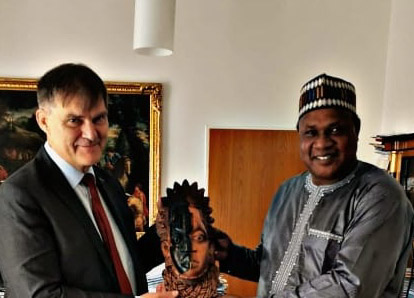 Fostering bilateral cooperations, Amb Kevin meets Dr Rudolf of Czech Rep