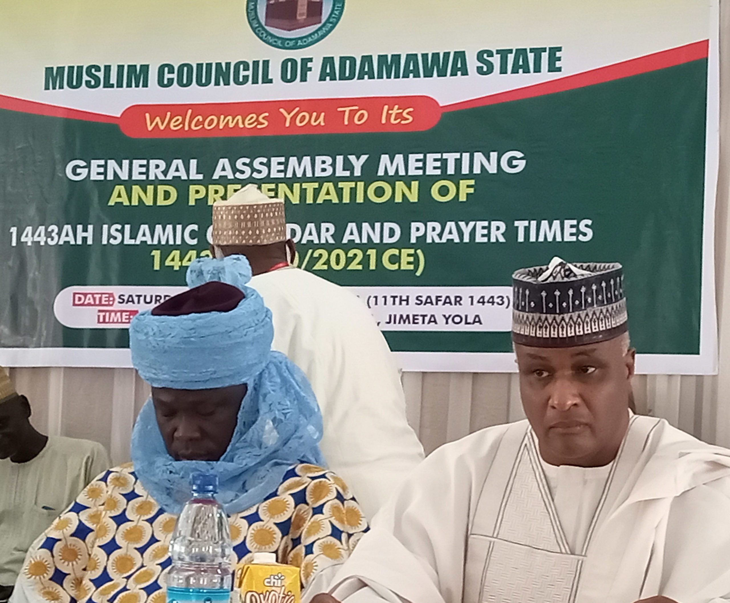 Adamawa Muslim council launches 1443 Islamic calendar, chair harps significance of building trust and time