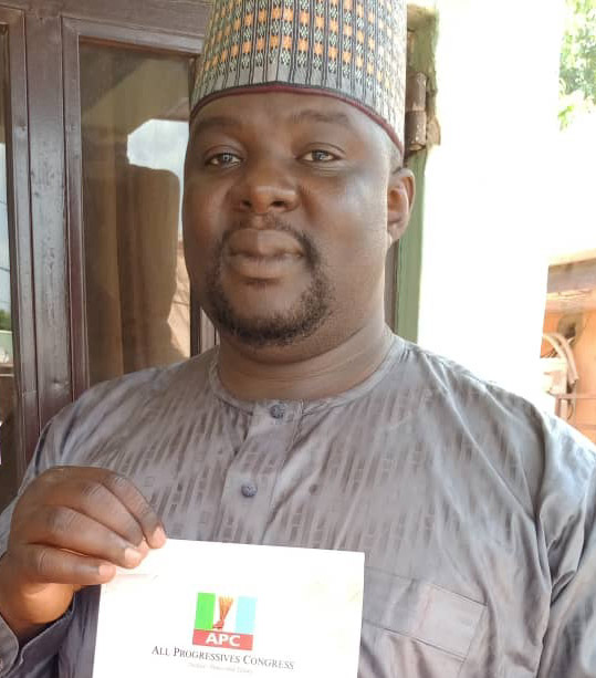 State Congress: Vrati collects form for APC Adamawa state Chairman