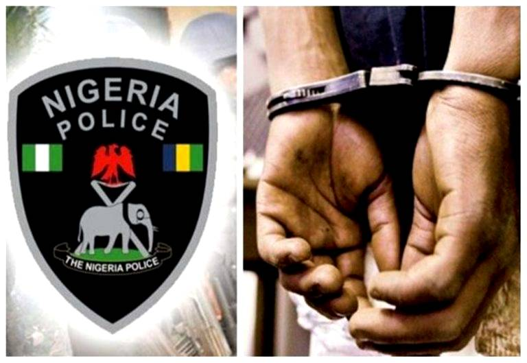 Police parade two suspects for killing 80,70 year old Mother, Father over witchcraft practice in Adamawa