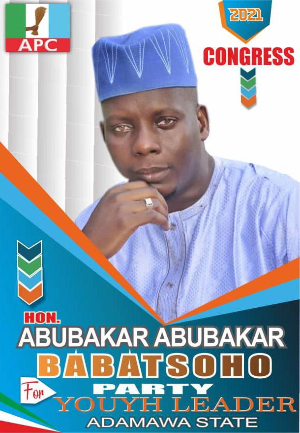 Youth Leader: Abubakar Abubakar scores 894 of the Adamawa APC Congress