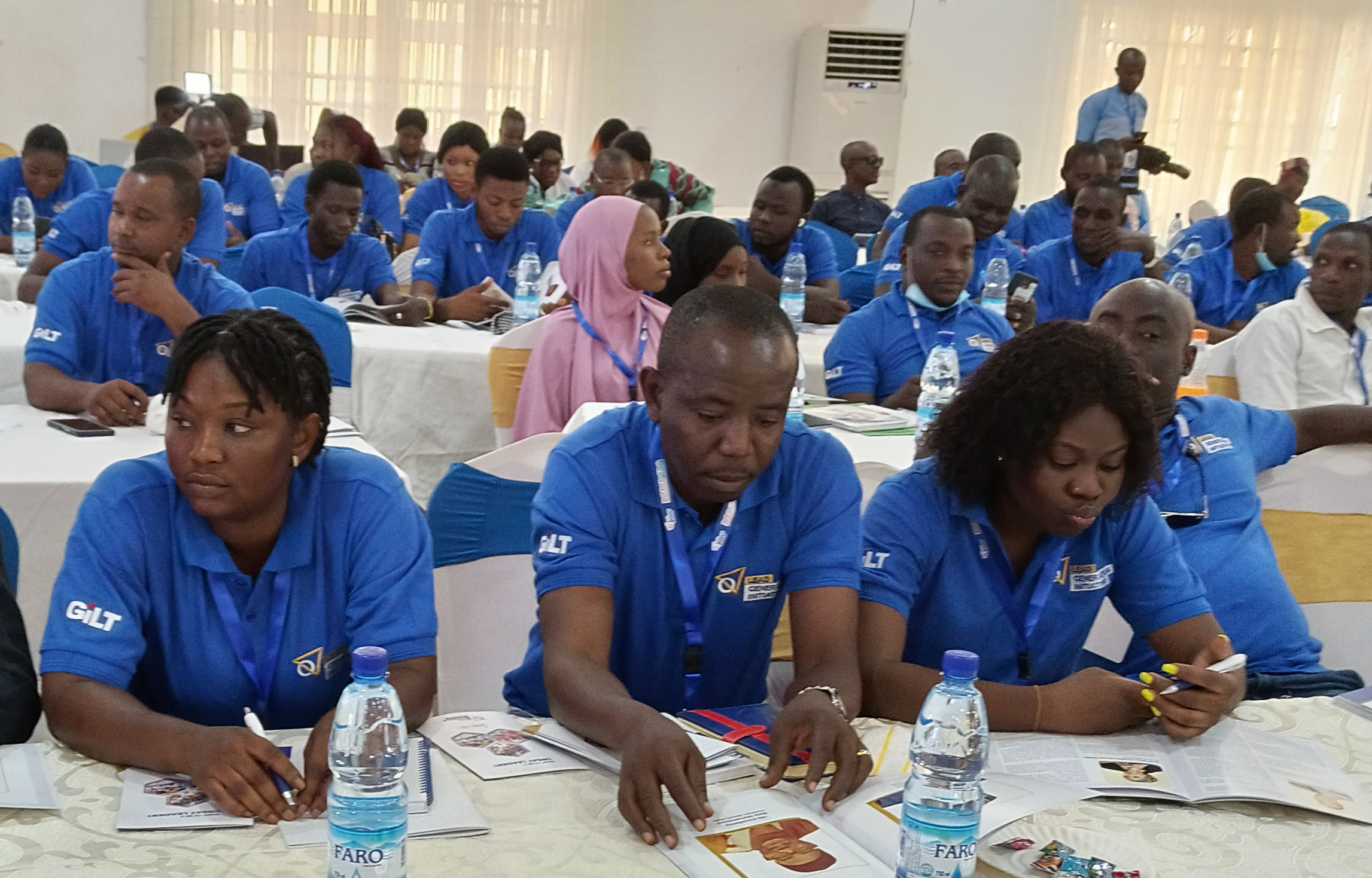 500 North East Youths received leadership training in Yola by LGI
