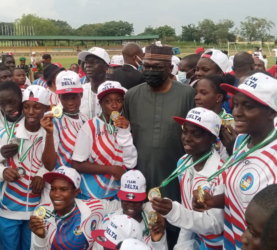 Older Looking Delta Athletes Help State Retain NYG Trophy, Kaduna Finished Top From North West